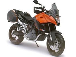 KTM 990 SM-T Orange Motorcycle Model 1/12 Automaxx 601701