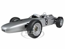 Porsche 804 Formula 1 1962 #8 Jo Bonnier Nurburgring 1962 1/18 Diecast Model Car Autoart 86272