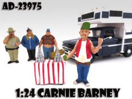 "Carnie Barney ""Trailer Park"" Figure For 1:24 Scale Diecast Model Cars American Diorama 23975"