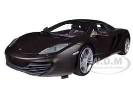 2011 Mclaren MP4-12C Matt Black Limited to 750pc 1/18 Diecast Model Car Minichamps 110133021