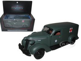 1937 Studebaker Army Ambulance Van 1/43 Diecast Car Model Phoenix Mint 18376