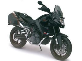 KTM 990 SM-T Black Motorcycle Model 1/12 Automaxx 601702