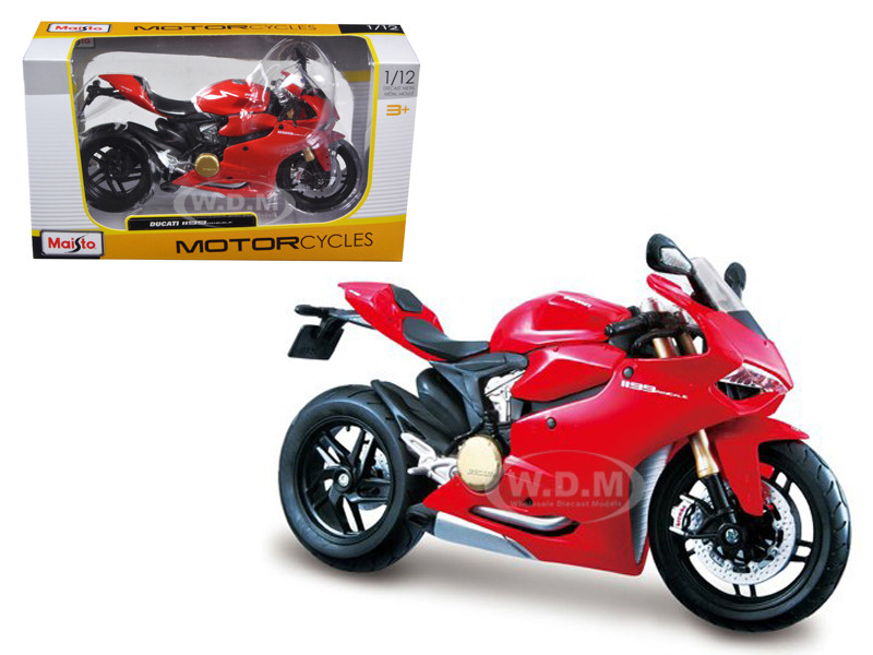 Ducati 1199 Panigale Red 1/12 Motorcycle Maisto 11108