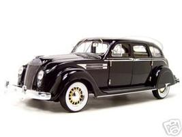 1936 Chrysler Airflow Diecast Model Black 1/18 Die Cast Car By Signature Models