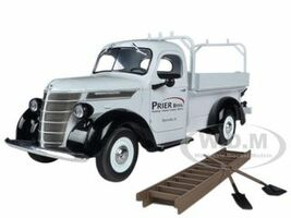 1938 International Prier Brothers D-2 Utility Pickup Truck 1/25 Diecast Model First Gear 40-0306