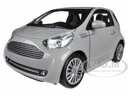 Aston Martin Cygnet Silver 1/24 Diecast Car Model Welly 24028