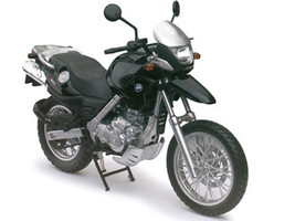 BMW F650GS Black Motorcycle Model 1/12 Automaxx 600402