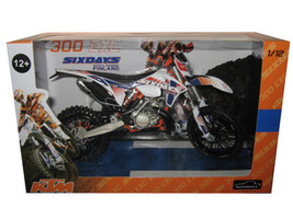 KTM 300 EXC Dirt Bike 6 Days Kotka-Hamina Finland Motorcycle Model 1/12 Automaxx 603701