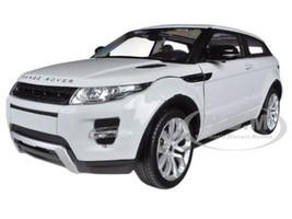 Range Rover Land Rover Evoque White 1/24 Diecast Car Model Welly 24021