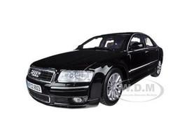 2004 Audi A8 Black 1/18 Diecast Car Model Motormax 73149