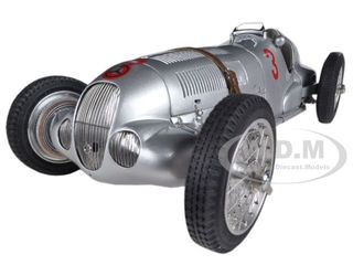 Mercedes W125 #3 Manfred von Brauchitsch 1937 GP Donington Limited to 1000pc Worldwide 1/18 Diecast Model Car CMC 115