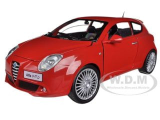 Alfa Romeo Mito Red 1/24 Diecast Car Model Motormax 73371