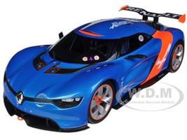 2012 Renault Alpine A110-50 Blue Metallic Orange Accents 1/18 Diecast Model Car Norev 185147