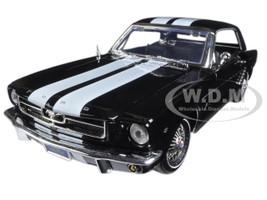 1964 1/2 Ford Mustang Hard Top Black 1/18 Diecast Car Model Motormax 73164
