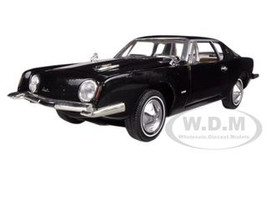 1963 Studebaker Avanti Black 1/32 Diecast Car Model Signature Models 32301