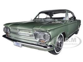 1963 Chevrolet Corvair Coupe Laurel Green 1/18 Diecast Car Model Sunstar 1483
