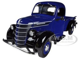 1938 International D-2 Pickup Truck IH Blue / Black 1/25 Diecast Model First Gear 40-0314