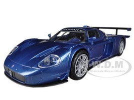 Maserati MC 12 Corsa Blue 1/24 Diecast Car Model Motormax 73360