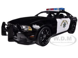 2013 Ford Mustang Boss 302 Highway Patrol Car 1/18 Diecast Car Model Shelby Collectibles 460