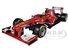 Ferrari F2013 F138 Felipe Massa Formula 1 2013 F1 1/18 Diecast Car Model Hotwheels BCK15