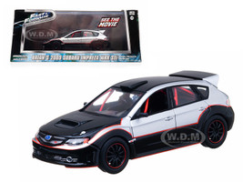 "Brian's 2009 Subaru Impreza WRX STi ""The Fast and The Furious"" Movie (2009) 1/43 Diecast Car Model Greenlight 86220"