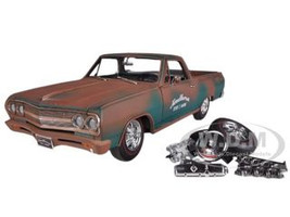 "1965 Chevrolet El Camino ""Southern Speed & Marine"" Only 696 Produced 1/18 Diecast Model Car Acme A1805401"