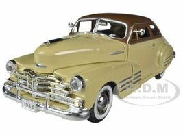 1948 Chevrolet Fleetline Aerosedan Beige 1/32 Diecast Car Model Signature Models 32437