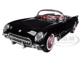 1954 Chevrolet Corvette Black Limited to 1500pc 1/18 Diecast Model Car Autoworld AMM1015