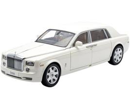 Rolls Royce Phantom Extended Wheelbase English White 1/18 Diecast Car Model Kyosho 08841