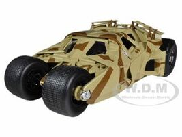 """The Dark Knight Rises"" Batmobile Tumbler Camouflage 1/18 Diecast Car Model Hotwheels BCJ76"