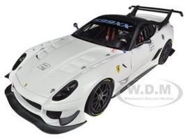 Elite Ferrari 599XX 599 XX Evo White 1/18 Diecast Car Model Hotwheels BCJ92