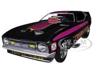 1972 Ford Mustang Trojan Horse NHRA Funny Car Model Limited to 1500pc 1/18 Diecast Model Car Autoworld AW1122