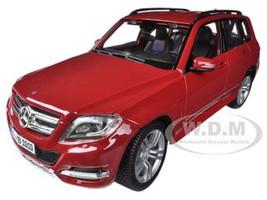 Mercedes Benz GLK Class Red 1/18 Diecast Model Car Maisto 36200