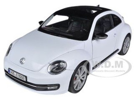 2012 Volkswagen New Beetle White 1/18 Diecast Car Model Welly 18042