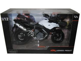 KTM 990 SM-T White/Black Motorcycle Model 1/12 Automaxx 601703