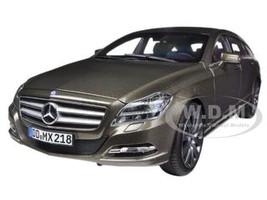 2012 Mercedes CLS 500 Wagon Shooting Brake Indium Grey 1/18 Diecast Car Model Norev 183549