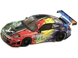 Porsche 997 RSR Prospeed #75 Le Mans 2011 Marc Goossens / Marco Holzer / Jaap Van Lagen 1/18 Model Car Spark 18S085