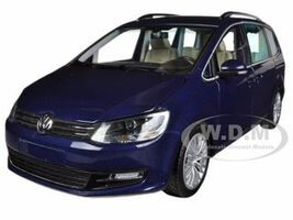 2010 Volkswagen Sharan Metallic Blue Limited to 1002pc 1/18 Diecast Model Car Minichamps 110051000