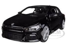 Volkswagen Scirocco R Black 1/24 Diecast Car Model Bburago 21060