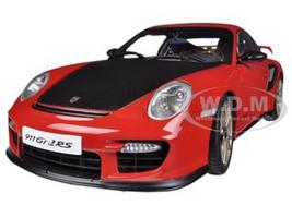 Porsche 911 (997) GT2 RS Red 1/18 Diecast Car Model Autoart 77964