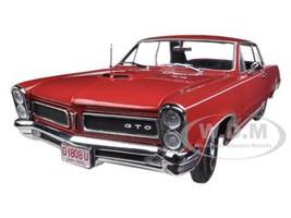 1965 Pontiac GTO Montero Red 1/18 Diecast Car Model Sunstar 1808