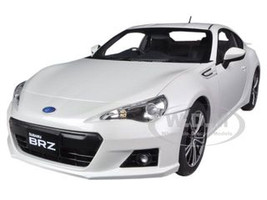 Subaru BR-Z White 1/18 Diecast Car Model Autoart 78693