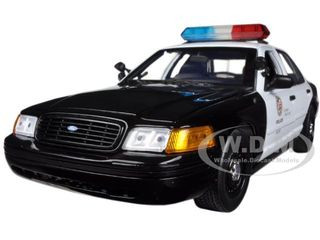 Ford Crown Victoria Los Angeles Police Lapd 1 18 Diecast Car Model