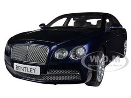 Bentley Flying Spur W12 Peacock Blue 1/18 Diecast Car Model Kyosho 08891