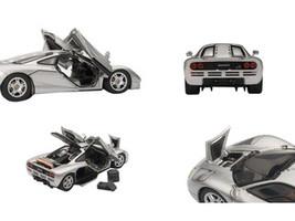 Mclaren F1 Silver With Openings 1/43 Diecast Car Model Autoart 56001