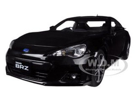 Subaru BR-Z Black 1/18 Diecast Car Model Autoart 78692