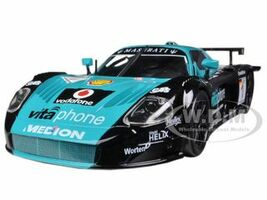 Maserati MC 12 #1 Blue/Black 1/24 Diecast Car Model Bburago 28004