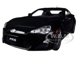 Scion FR-S North American Version Left Hand Drive Black Silica 1/18 Diecast Model Car Autoart 78777