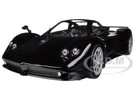 Pagani Zonda F Black 1/18 Diecast Car Model Motormax 79159