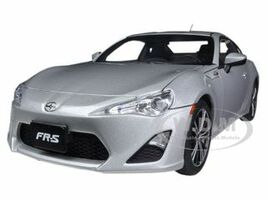 Scion FR-S North American Version Left Hand Drive Silver Metallic 1/18 Diecast Model Car Autoart 78778